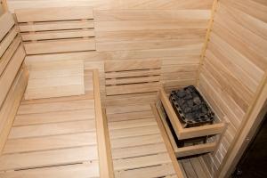 finská sauna - v přípravě