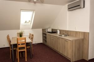 velký apartmán  kuchyňka